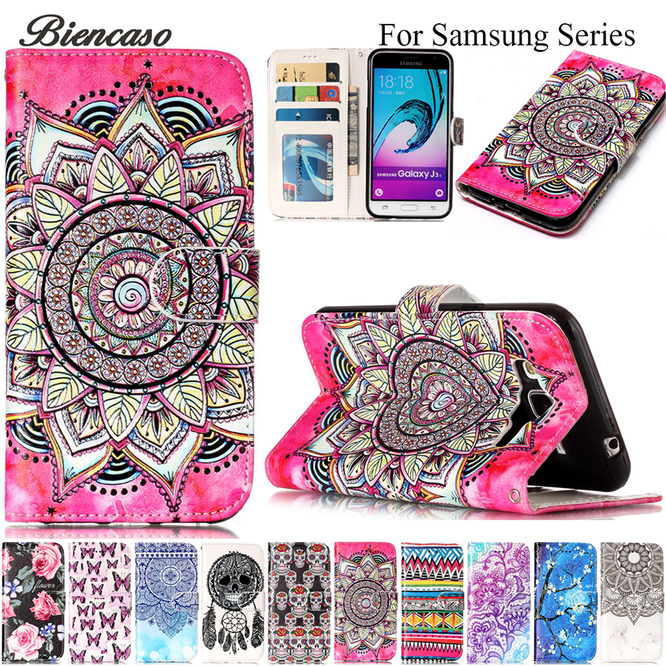 Flip PU Leather Wallet Cover For Samsung Galaxy J3 2017 J5 J7 J730 J530 J320 J310 Case For Apple iPhone 7 8 Plus X 10 Funda B06