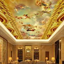 Custom  Mural 3D Wallpaper European Style Classic People Oil Painting