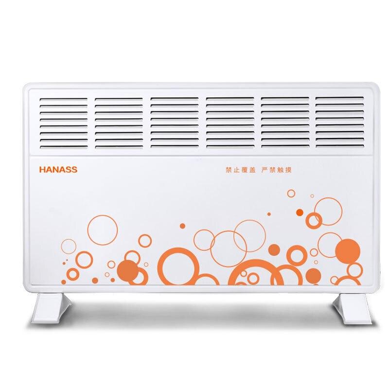 Grand espace puissant Six fenêtres radiateurs électriques maison bureau ventilateur chauffage européen rapide Dissipation chaude climatiseur pour l'hiver