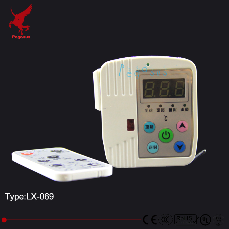 LX069 Plug type temperature controller Floor heating thermostat heating film heating wire thermostat