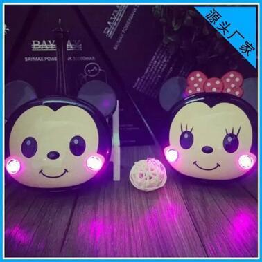 Moda bonito mickey minnie power bank para iphone samsung carregador de bateria portátil animal dos desenhos animados 3d mouse cabo livre presentes