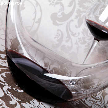 1000ml Lead ฟรีแก้วเหล้าไวน์ Barware Wine Aerator คอนเทนเนอร์ Red Wine Dispenser Pourer เหยือกเหล้า Carafe บาร์เครื่องมือ