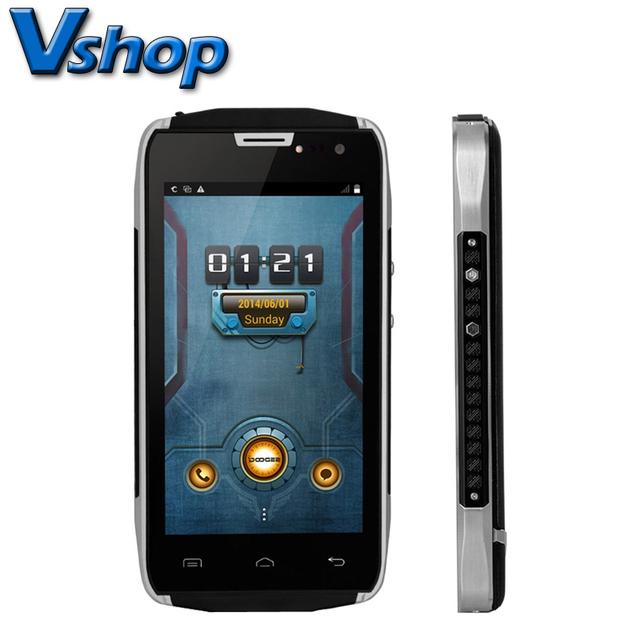 Original Doogee TITANS2 DG700 Android 4.4.2 MTK6582 Quad Core Móvil 1 GB RAM 8 GB ROM 4000 mAH Dual Tarjeta SIM OTG