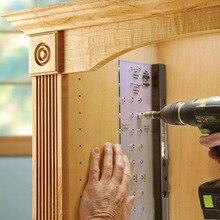 Perforación de brocas para el hogar, herramienta para proyectos, escariador, estante, Perno para muebles, bisagra para carpintería, montaje multifuncional, Mini Puerta de gabinete