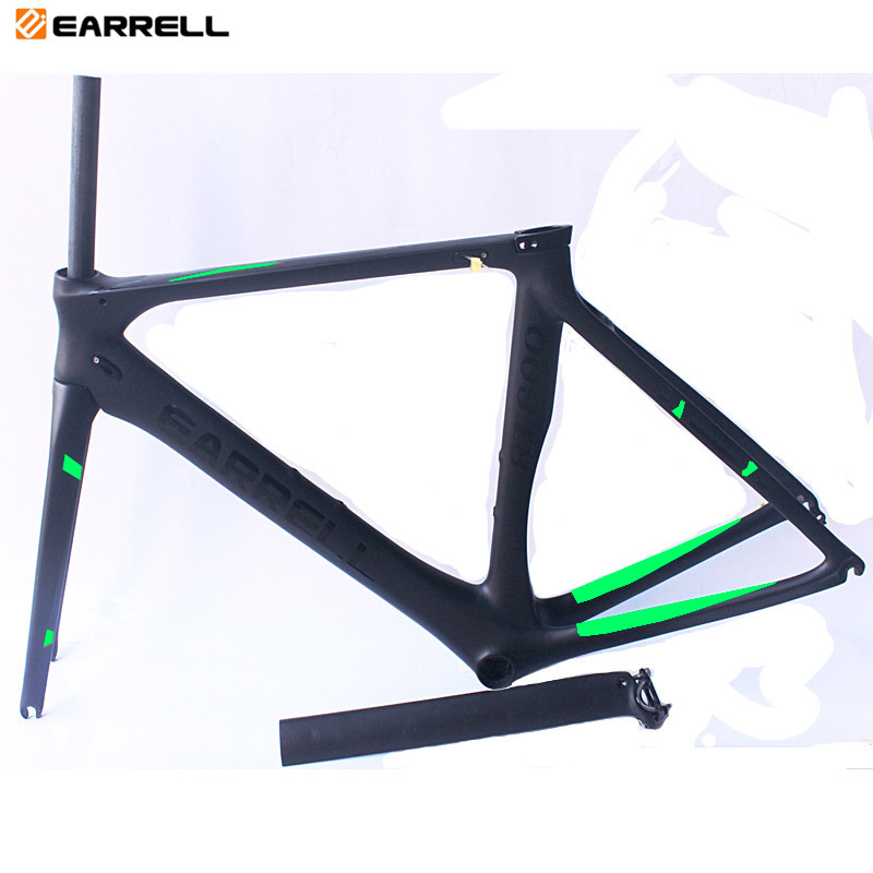 EARRELL Road Carbon Bike Frame Full carbon Road Bike Frame Road Carbon frame with 2 Year warranty carbon road