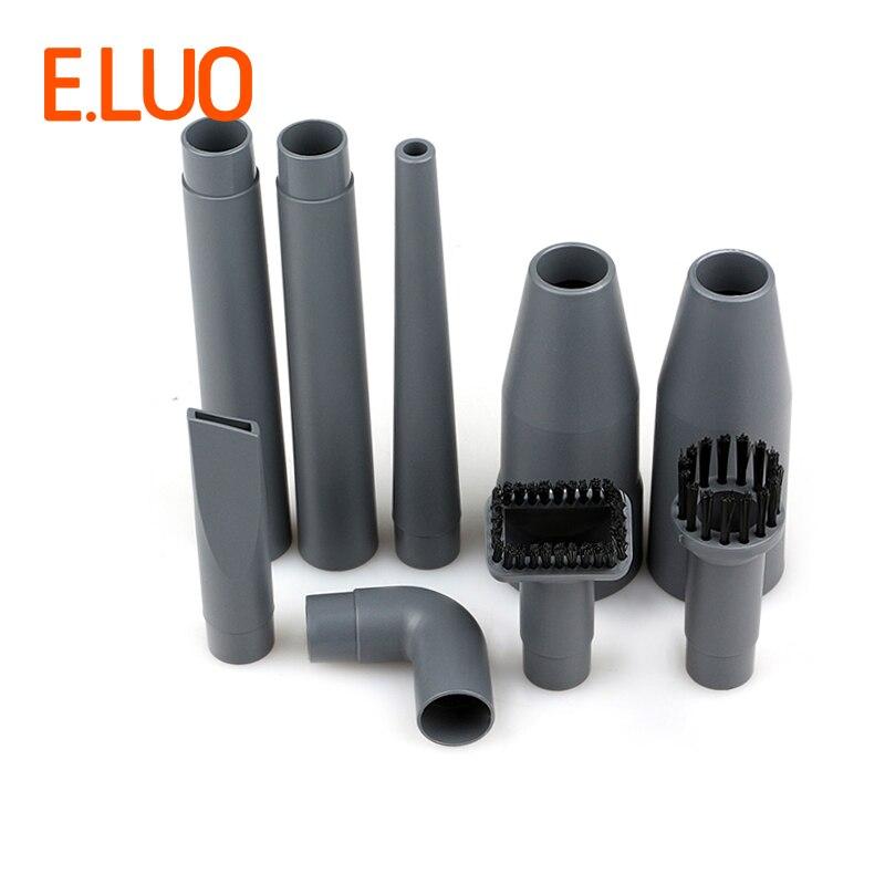 32mm-35mm Vacuum Cleaner Parts AccesoriesAttachment Kit Com Pincéis, conector Bocal de Sucção plana Todo O Acessório Que Você Precisa