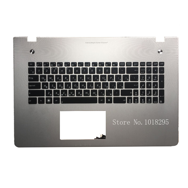 New Russian Keyboard for Asus N76 N76VB N76VJ N76VM N76VZ RU with backlit Laptop Keyboard new russian for hp envy x2 11 g000 g003tu tpn p104 hstnn ib4c c shell ru laptop keyboard with a bottom shell