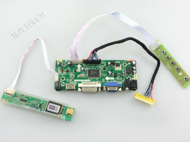 VGA DVI HDMI Плате Контроллера LCD HDMI для LTN154XB LTN154XB-L01 L01 15.4 дюймов 1280x800 2 CCFL LVDS ЖК водитель борту HDMI DVI
