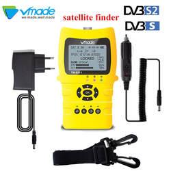 Vmade TM8511 Finder HD DVB-S2 цифровой сатфайндер Высокое разрешение прибор для настройки спутниковой антенны DVB S2 спутниковый метр Satfinder 1080 P WS6933