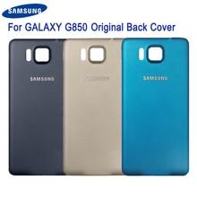 Samsung Original Back Battery Door Rear Housing Cover For Samsung Galaxy Alpha G850Y G850K G850A G850F G850V G850 Back Cover сова pattern мягкий тонкий тпу резиновая крышка силиконовый гель чехол для samsung galaxy alpha g850