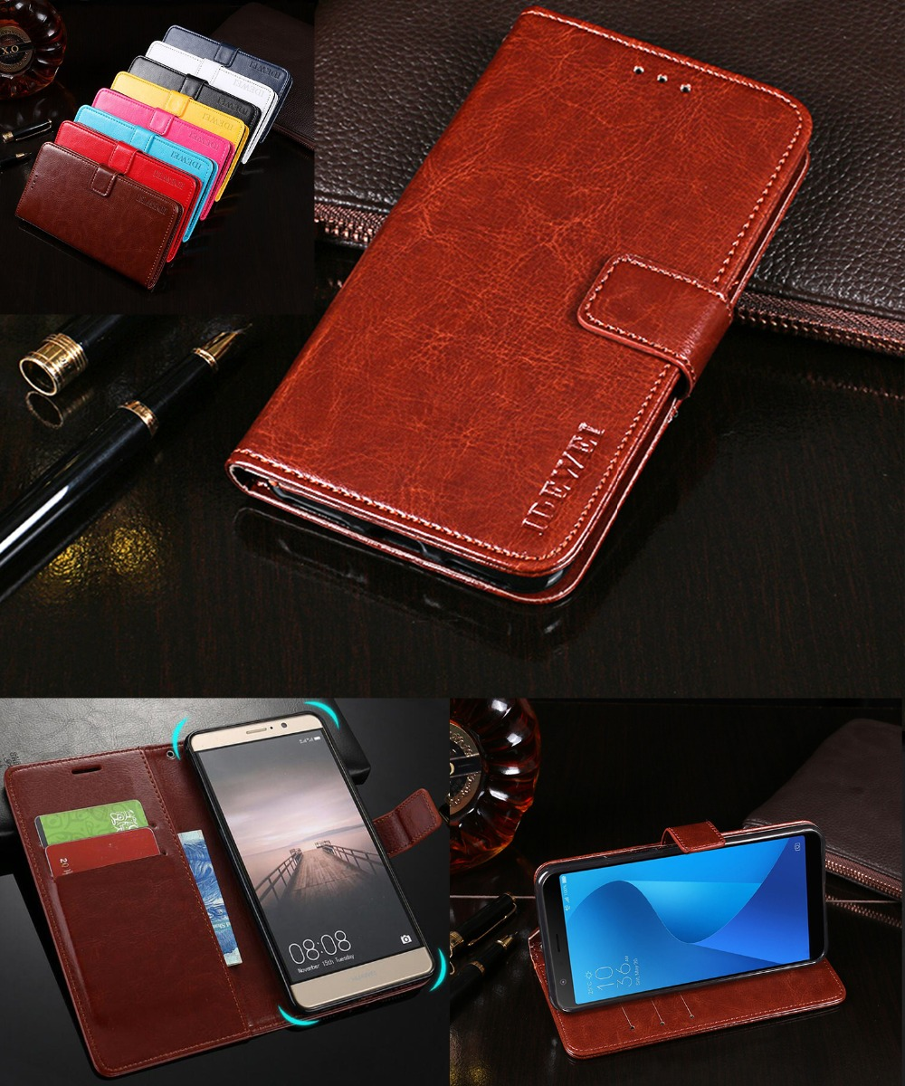 For Asus Zenfone Pegasus 4S Max Plus X018DC Stand Wallet Flip Case PU Leather Cover For ASUS Zenfone Max Plus (M1) ZB570TL