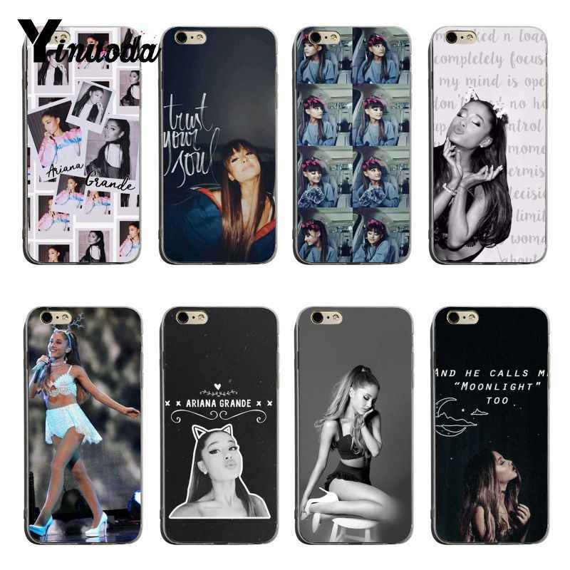 b73c553a25c Yinuoda Sexy Cat Ar Ariana Grande Novelty Fundas Phone Case Cover For iPhone  6 6plus 7
