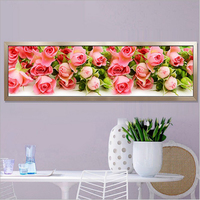 170X50CM 5D Round Diamond Painting Cross Stitch Kit Butterfly Flowers Pictures For Diamond Embroidery Diy Diamond