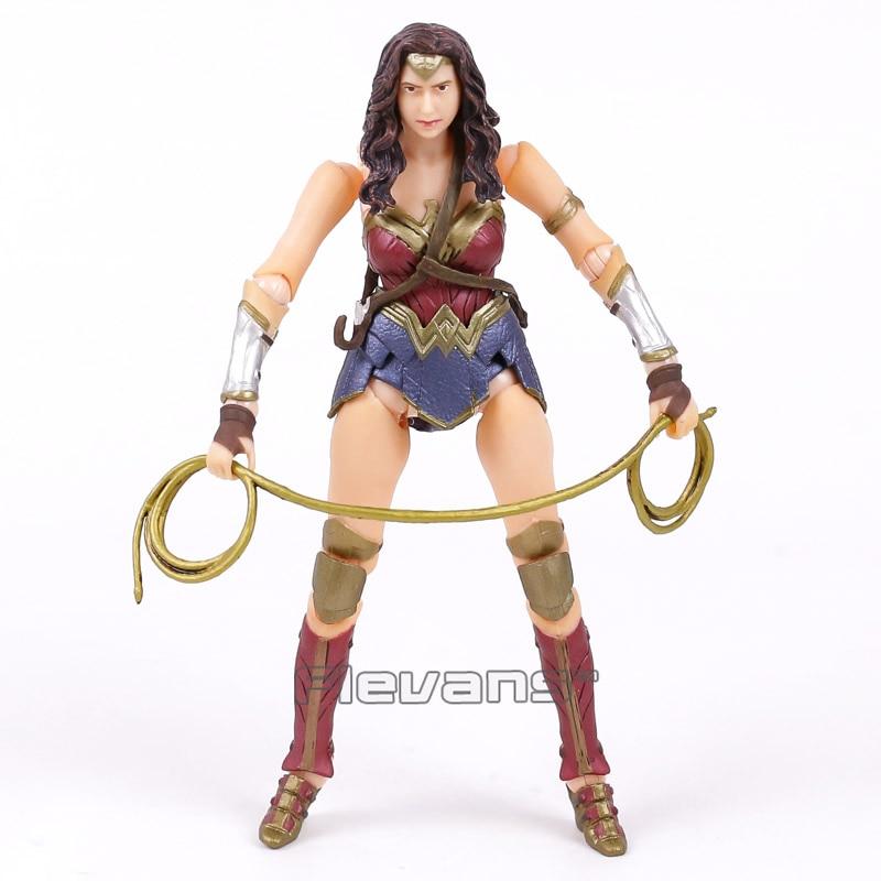 Сумасшедший Игрушечные лошадки Wonder Woman 1/12-й Весы ПВХ Рисунок Коллекционная модель игрушки Brinquedos