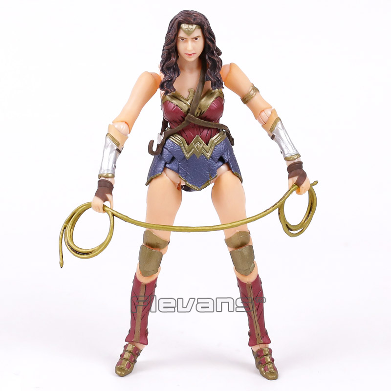 Crazy Toys Wonder Woman 1/12 TH Scale PVC Figure Collectible Model Toy Brinquedos brian azzarello wonder woman volume 1 blood