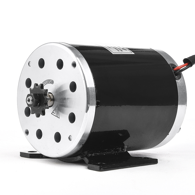 цена на UNITEMOTOR MY1020 800W 36V/48V High Speed Brush DC Motor Electric Bicycle Motor E Scooter Motor Ebike Brush Gear Motor