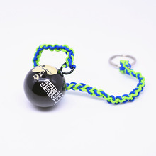 Game Watch Dogs 2 Marcus Dedsec Melee Weapon Ball Cosplay Props Metal Thunderball Pendant Unisex Bag Accessories