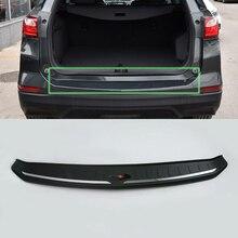 Rear bumper guard plastic rear foot plate For CHEVROLET EQUINOX 2017 Car Protective