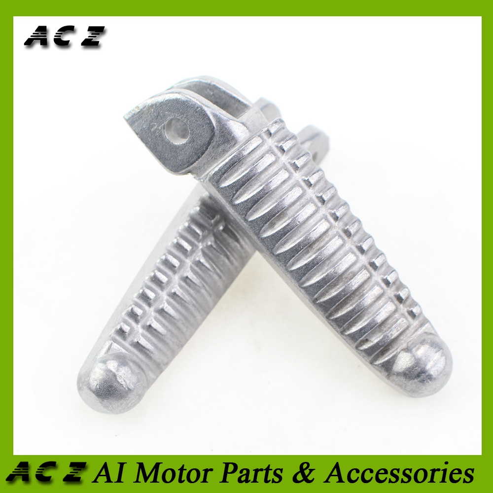 Frames & Fittings Foot Rests Aluminum Front Foot Peg Footrest For Ducati 899 1199 All Years Motorcycle Accessories Silver The Latest Fashion
