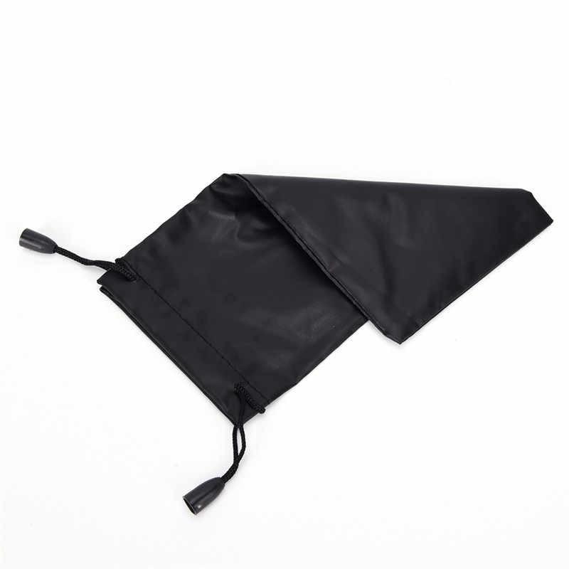 3 sztuk torba na okulary Case dla podróży okulary okulary czarne okulary torebka z okularami etui z mikrofibry