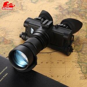 Image 5 - Militaire 2 Generatie HD Beeldvorming Nachtkijker Jacht Optics Helm Type IR Nacht Verrekijker Optionele Lens Aangepaste