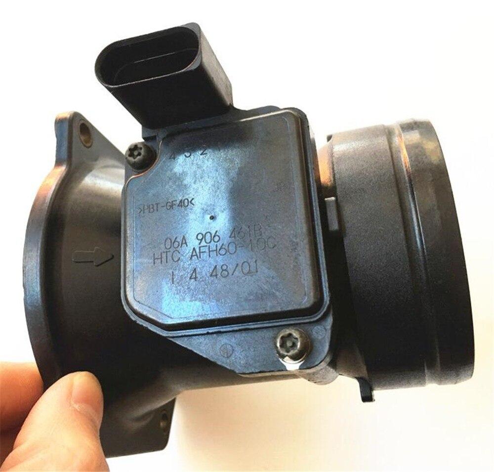 1pc Original High Quality Air Flow Meters 06A906461B AFH60 10C Maf Sensors Fit for Audi Volkswagen