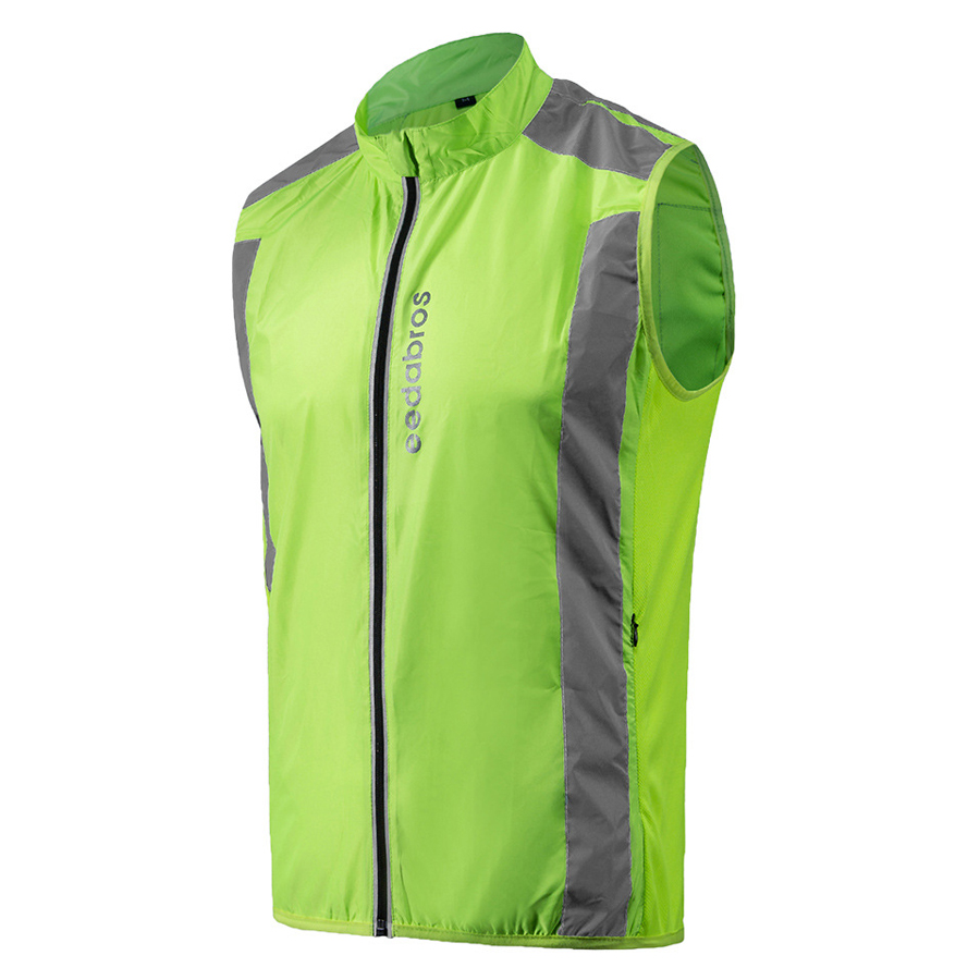 ФОТО 2017 spring autumn cycling vest sleeveless jersey riding bike shirt Reflective Windproof Cycle Clothing Wind Coat Jacket Vest