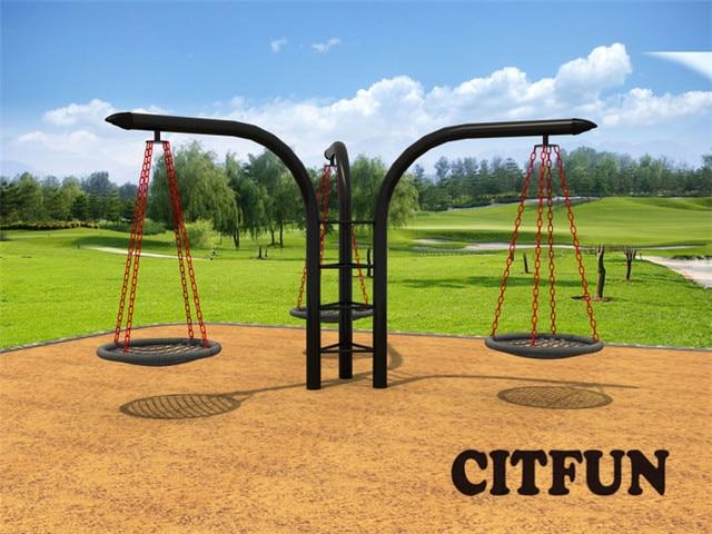 EN1176 Outdoor Playground Swing Set For Sale CIT SW283D