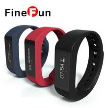 Finefun I5 плюс Смарт Браслет Bluetooth 4.0 Водонепроницаемый Сенсорный экран фитнес трекер здоровье браслет сна монитор Смарт часы