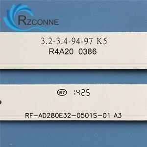 Image 2 - 530 مللي متر LED شريط إضاءة خلفي 5 مصباح ل RF AD280E32 0501S 01 TF LED28S9T2 CX275DLEDM