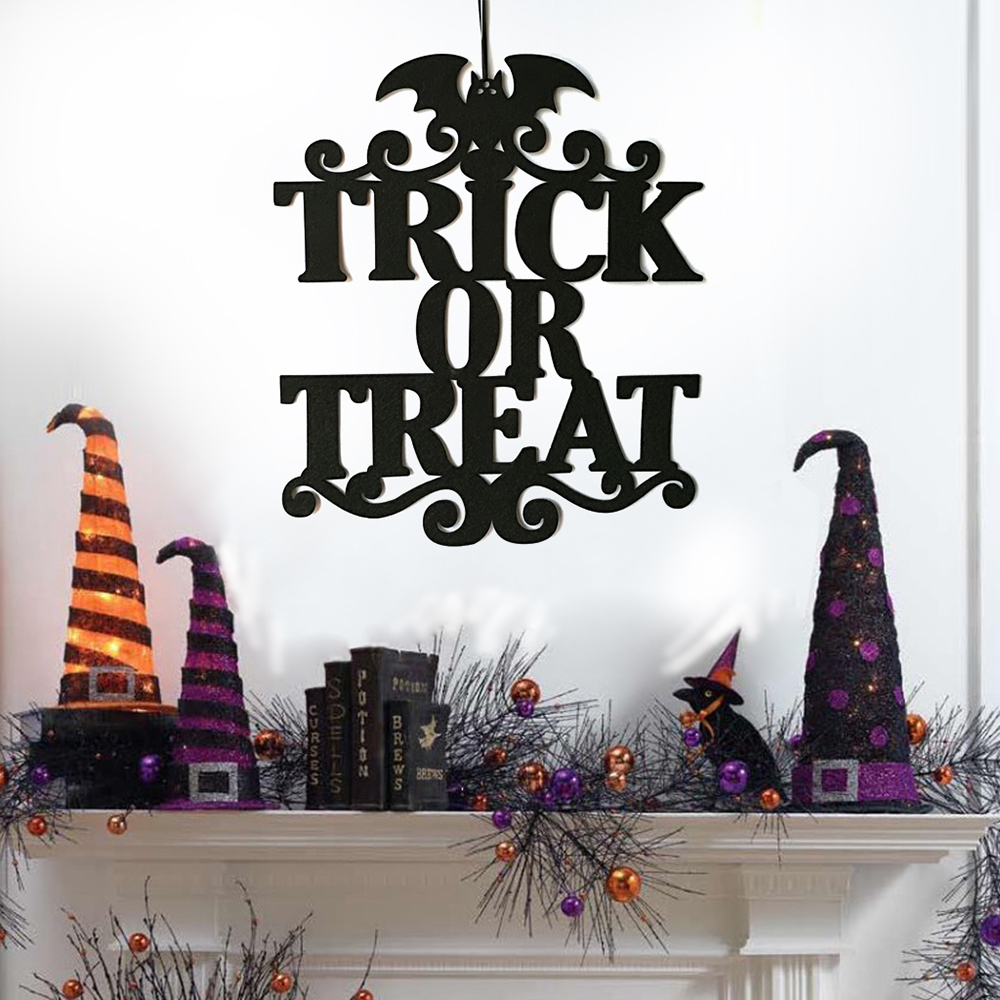 2018 Hanging Door Decoration Wall Sign Halloween ...