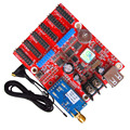 indoor / outdoor P10 LED Module Control Card TF-M6UW Mobile WIFI Wireless & USB Driver LED Display 08 port Control Card