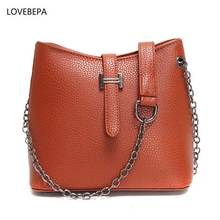 new arrival shoulder bag leather women fashion female crossbody bag Five colors woman bag 2017