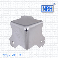 NRH 7301-38 steel corner Protector high quality Flight case road case performance equipment case cornerite chrome finish