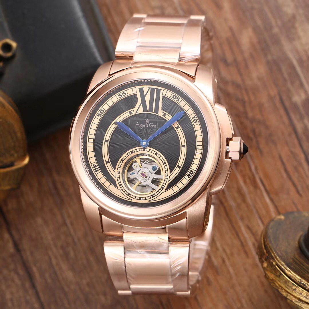 Luxury Brand New Automatic Mechanical Men Watch Silver Rose Gold Sapphire Black White Transparent Glass Back Blue Watches AAA+Luxury Brand New Automatic Mechanical Men Watch Silver Rose Gold Sapphire Black White Transparent Glass Back Blue Watches AAA+