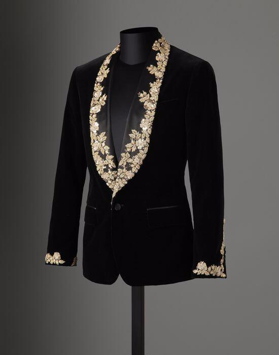 Latest Coat Pant Designs Black Velvet Lace Applique Men Suit Slim Fit Tuxedo 2 Piece Groom Prom Blazer Masculino Jacket+Pant C4p