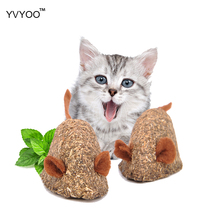 YVYOO Pet Cat toy Catnip Toys Fake mice Clean the mouth Add Vitamins Mint ball Clean the mouth 1pcs YV55