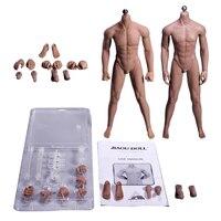 1:6 супер гибкие черный и пшеницы кожи бесшовные мужского тела Нержавеющаясталь скелет фигурки игрушки хобби Коллекция