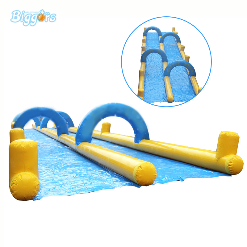 Inflatable Biggors Hot Popular Inflatable Water Slide With Water Spray Free Shipping стоимость