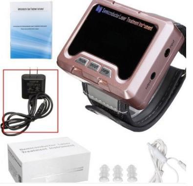 TV 650nm laser thérapie Poignet Diode LLLT pour le diabète hypertension traitement montre Laser sinusite appareil Thérapeutique Nouveau