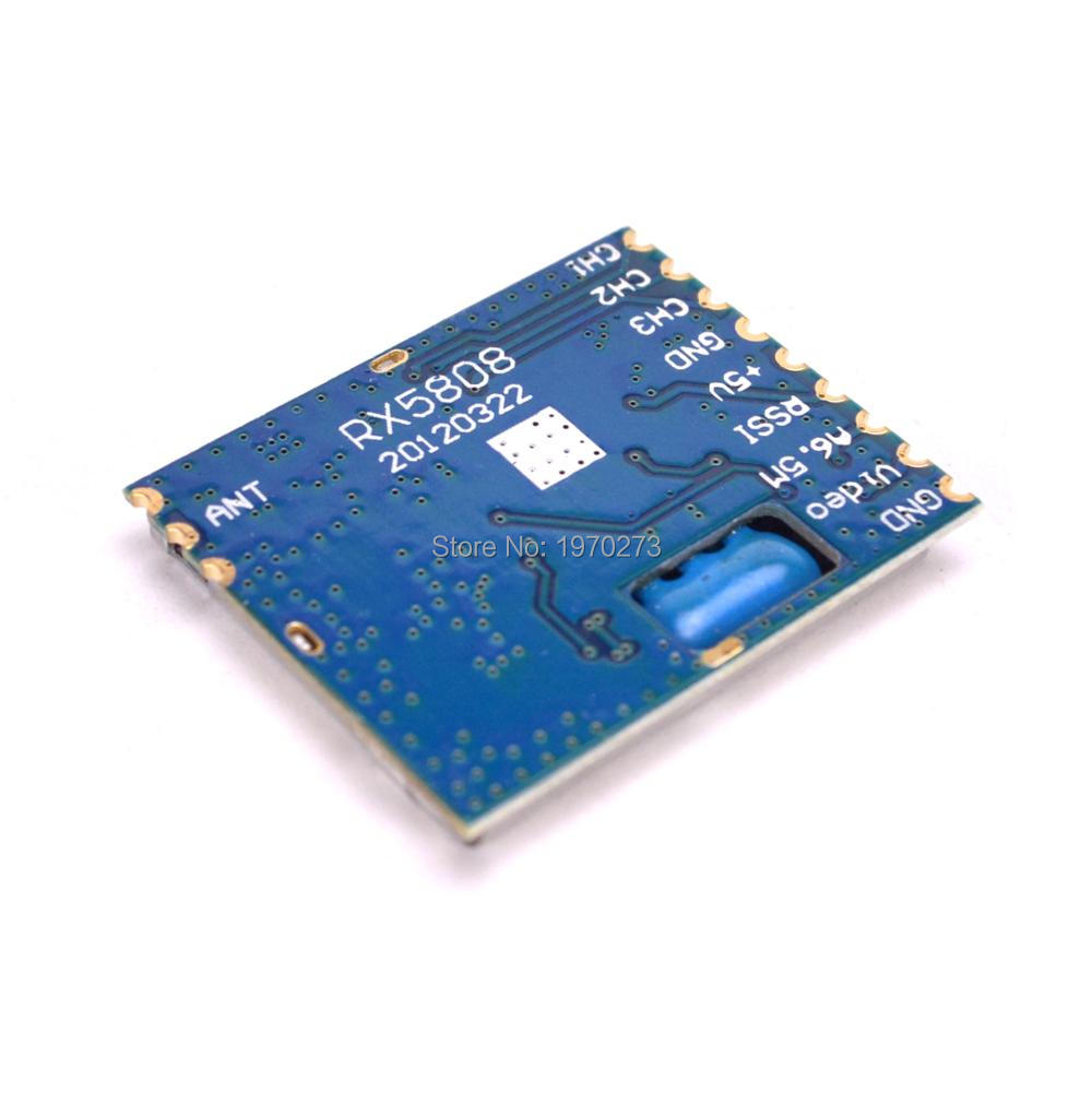 FPV RC 5.8G 5.8Ghz 8 Channels Wireless Audio Video Receiver Module For RX5808 Boscam DIY