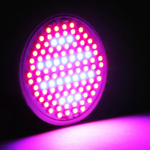 106 LEDs Grow Light E27 AC85-265V Full Spectrum 10W Indoor Hydroponics Plant Grow Light Superior Yield Higher Quality Flowers