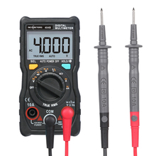 Портативный цифровой мультиметр RM404B, многофункциональный мини мультиметр esr, тестер переменного/постоянного напряжения, тестер транзисторов, амперметр, датчик температуры