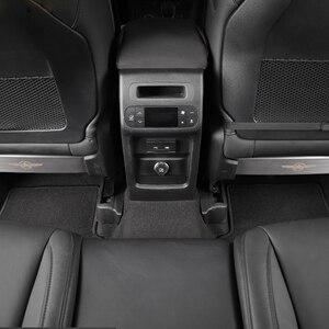 Image 4 - Für Jeep Renegade 2016 2019 Sitz Zurück Anti Kick Dekoration Panel für Jeep Kompass 2017 2018 2019 2020 auto Innen Zubehör