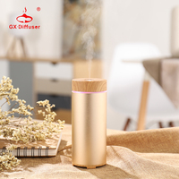 Aroma Air Humidifier For Home Aromatherapy Essential Oil Diffuser USB Car Humidifier Portable Mini Ultrasonic Cool