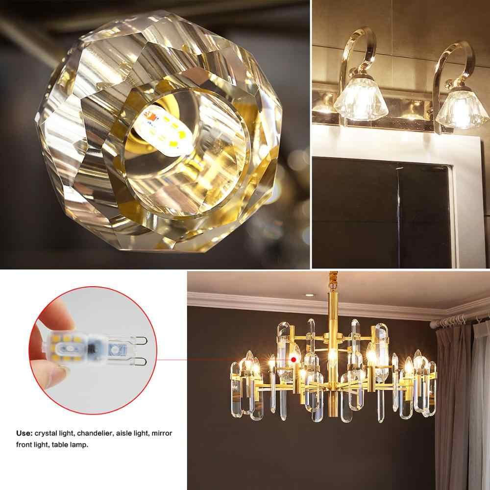 AC 220 V DC 12 V светодиодный светильник 3 W 5 W 2835SMD светодиодный светильник для шкафа G4 G9 светодиодный светильник для кухонного шкафа Шкаф люстра освещение