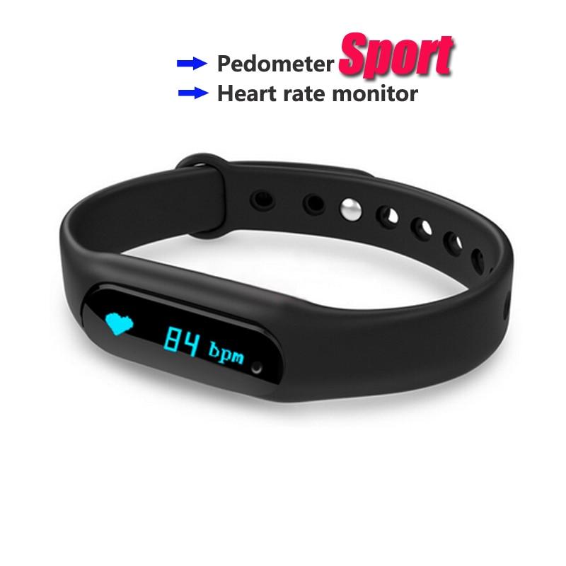 Sport C6 Bluetooth font b Smart b font Band Bracelet Bangle Heart Rate Passometer Fitness IP67