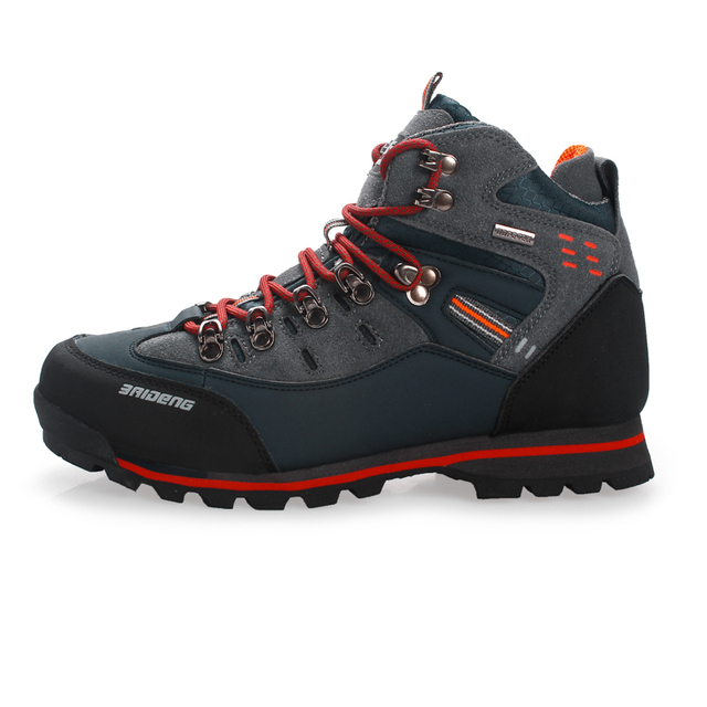 Breathable Outdoor Hiking Shoes Camping Mountain Climbing Hiking Boots Men Waterproof Sport Fishing Boots Trekking Sneakers