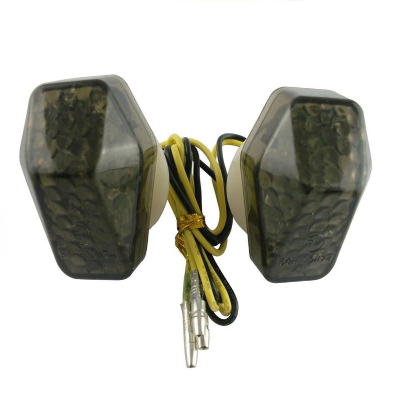 Motorcycle LED Mount Flush Blinker Indicator Tail Turn Signals Light for SUZUKI GSXR 600 750 1000 GSF 650