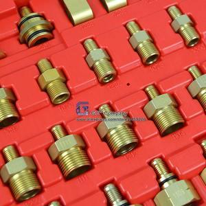 Image 2 - Universal Asien Auto Leck Detektor Stecker Adapter Set A/C Reparatur Werkzeug für A/C Klimaanlage Kältemittel system